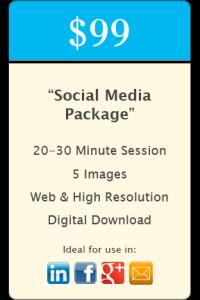 """Social Media"" Headshot Package"