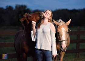 Horses and High School Senior Pictures